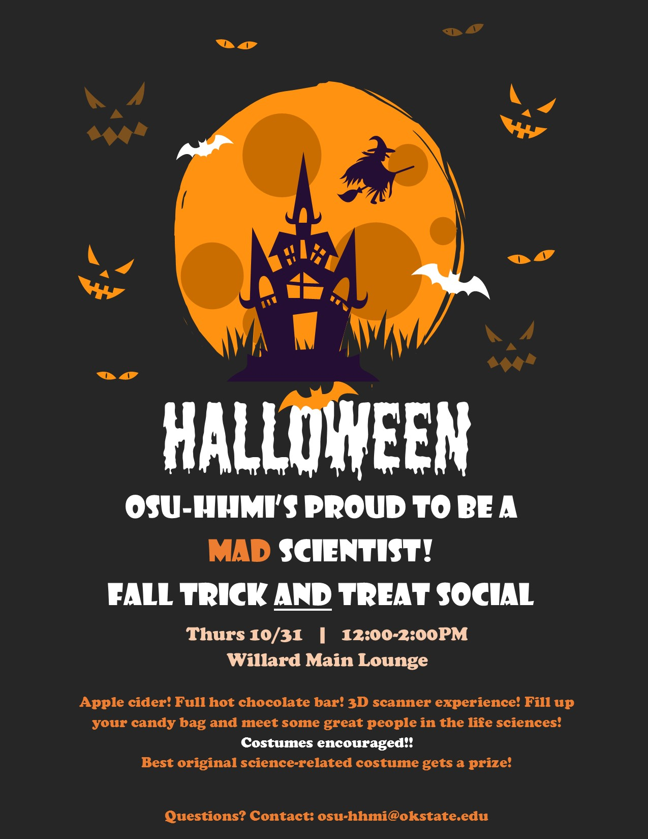 Have fun this Halloween at our Fall Social!